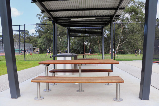 Promenade Picnic Setting with Wheelchair Accessible End